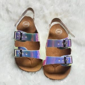 New Holographic Sandals